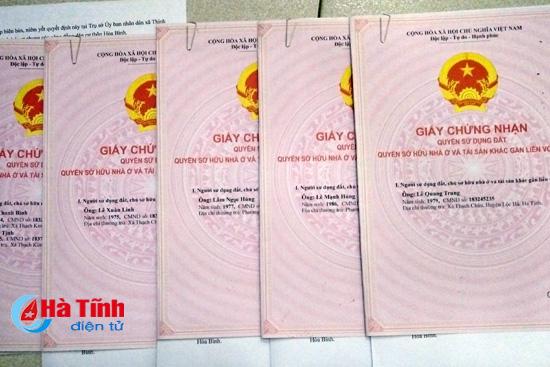Tự nguyện trả lại hơn 2.300m2 đất liên quan đến sai phạm của cán bộ Lộc Hà
