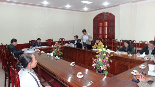 Thanh tra tỉnh Hà Tĩnh Tổ chức công bố Quyết định kiểm tra, xác minh khiếu nại của công dân
