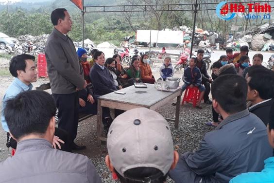 Sẽ sớm di dời các hộ dân bị ảnh hưởng Nhà máy xử lý rác thải Phú Hà