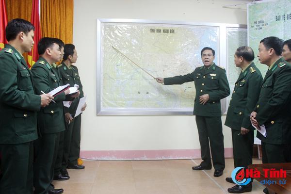 Xây dựng Bộ đội Biên phòng Hà Tĩnh vững mạnh toàn diện