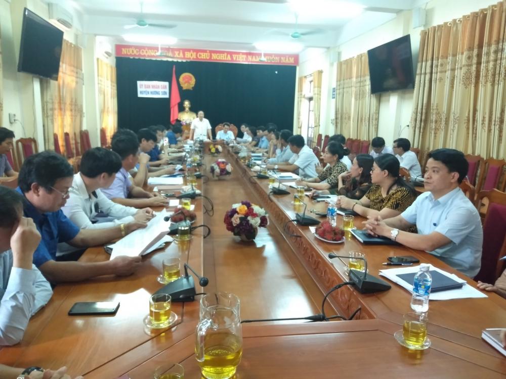 Thanh tra tỉnh công bố dự thảo Kết luận thanh tra tại huyện Hương Sơn
