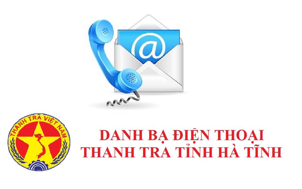 Danh bạ điện thoại cơ quan Thanh tra tỉnh