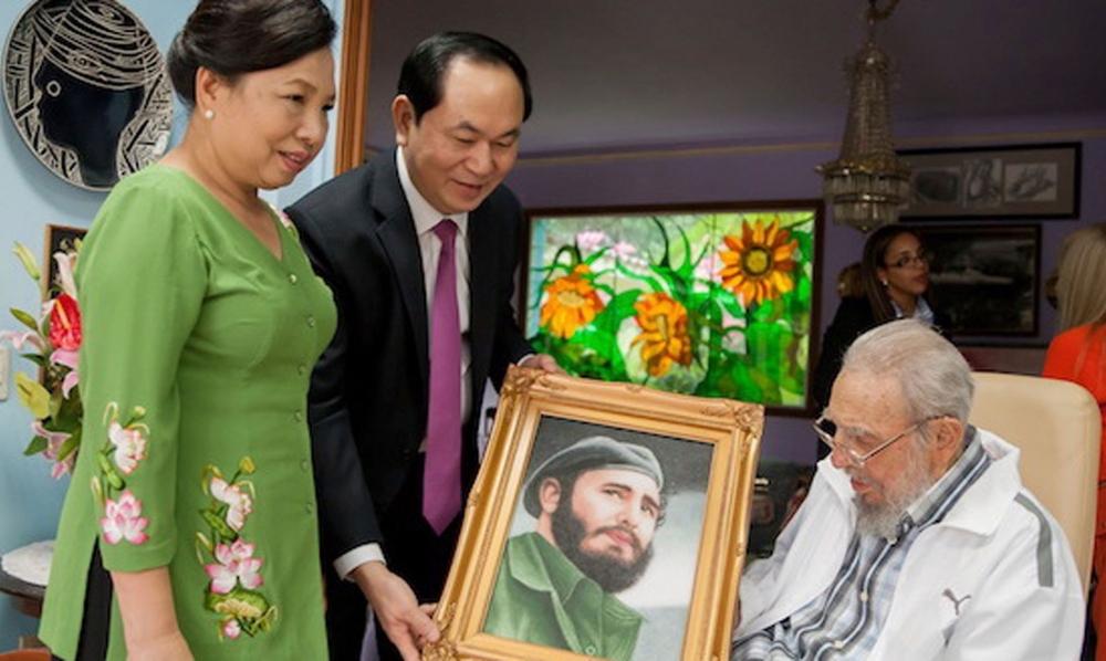 Tình cảm đặc biệt của Việt Nam dành cho lãnh tụ Fidel Castro
