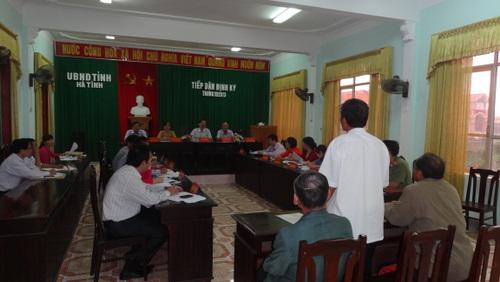Ủy ban nhân dân tỉnh tổ chức phiên tiếp công dân định kỳ tháng 10/2013