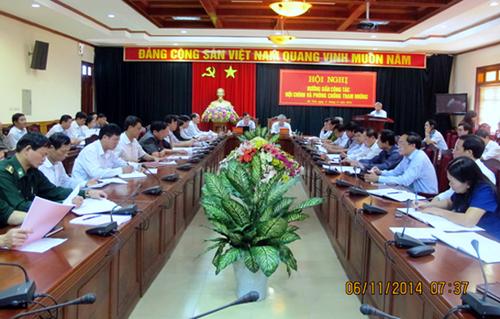 Hà Tĩnh: Tiến hành 18 cuộc thanh tra trách nhiệm trong thực hiện pháp luật về phòng, chống tham nhũng tại 57 đơn vị