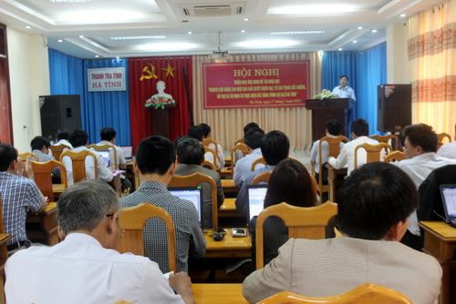 Thanh tra tỉnh Hà Tĩnh thực hiện tốt chủ trương hướng về cơ sở trong giải quyết khiếu nại, tố cáo.
