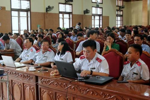 Thanh tra tỉnh tổ chức tập huấn về Tiếp nhận, phân loại và xử lý đơn khiếu nại, tố cáo, kiến nghị phản ánh của công dân