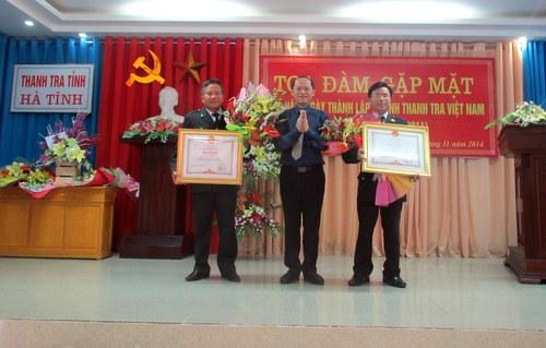 Thanh tra Hà Tĩnh tổ chức Tọa đàm - Gặp mặt chào mừng 69 năm ngày thành lập ngành Thanh tra Việt Nam