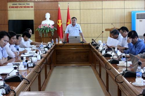Thanh tra tỉnh công bố dự thảo Kết luận thanh tra tại Sở Nông nghiệp và Phát triển nông thôn Hà Tĩnh