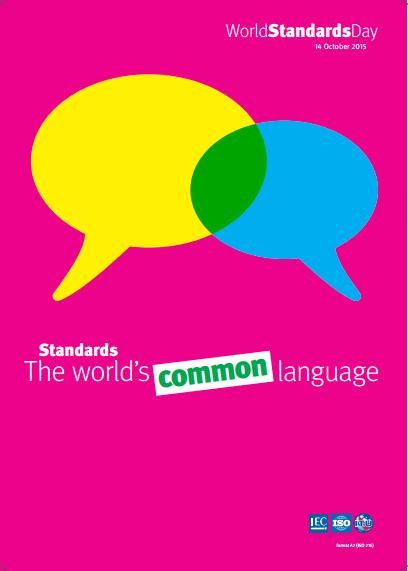 Ngày Tiêu chuẩn thế giới năm 2015: Tiêu chuẩn-Ngôn ngữ chung của thế giới