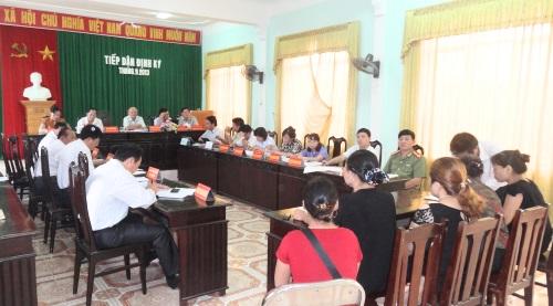 Thông báo tiếp dân định kỳ của UBND tỉnh tháng 9 năm 2013