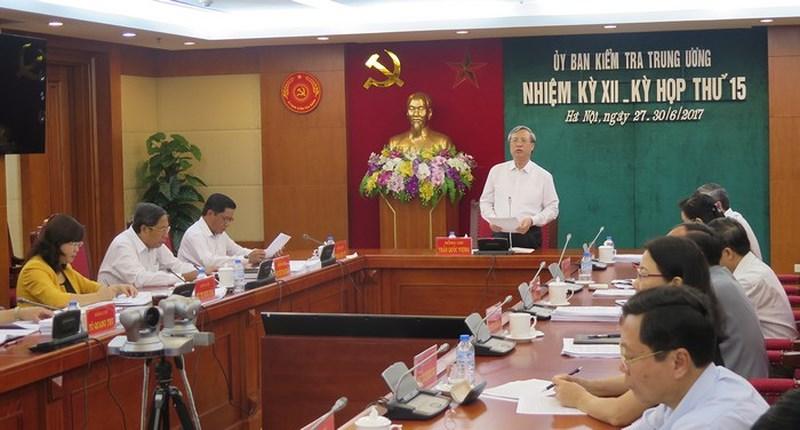 UBKT Trung ương hướng dẫn thực hiện Quy định xử lý kỷ luật đảng viên