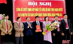 Cơ quan Ủy ban Kiểm tra - Thanh tra đầu tiên ở Hà Tĩnh mong muốn Trung ương sớm có quy định cho mô hình mới