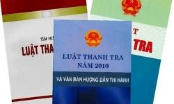 Thanh tra Chính phủ ban hành Kế hoạch xây dựng Luật Thanh tra (sửa đổi)