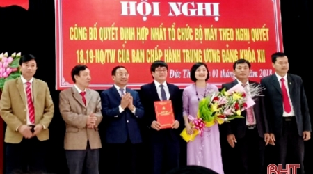 Cơ quan Ủy ban Kiểm tra - Thanh tra đầu tiên ở Hà Tĩnh...